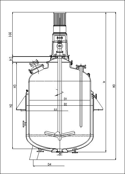 F型搪玻璃反应罐
